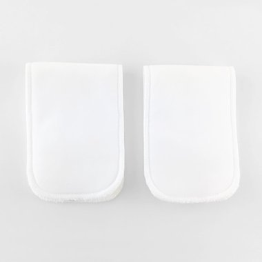 2 Microfiber pads - One layer