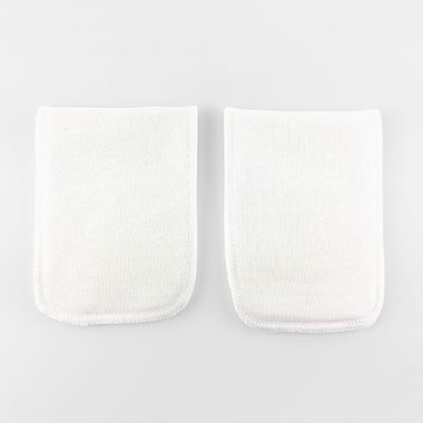 2 Organic Cotton pads - One layer