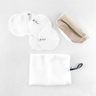 Cleansing pads + little pouch + net - Sable