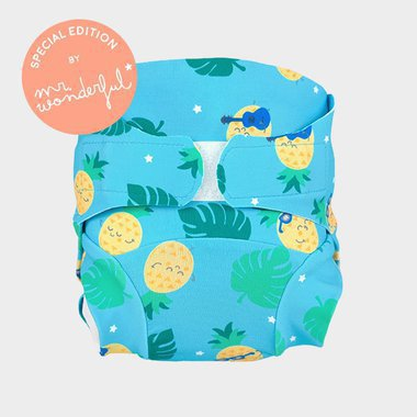 Swim Nappy Hamac by Mr Wonderful - Rock Ananas