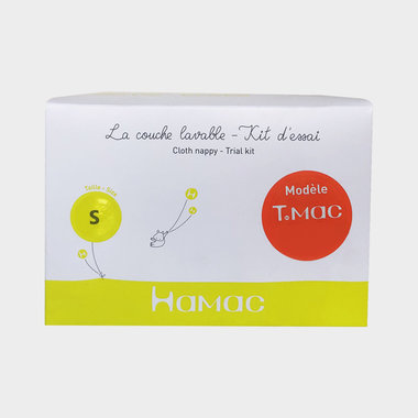 Separable T.MAC Nappy Trial Kit - White Chocolate