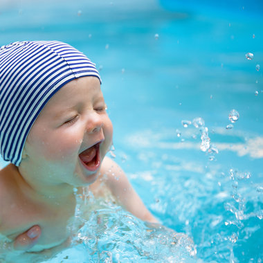 Baby Swim Cap - Little Sailor