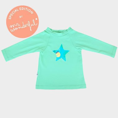 UV swim Shirt Hamac by Mr Wonderful - Rock Ananas