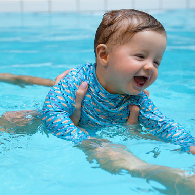UV swim Shirt - Sardines